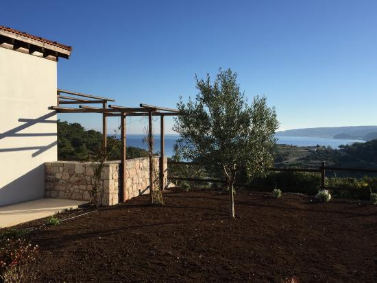 Kritinia, Grecia: Seaview from the rooms
