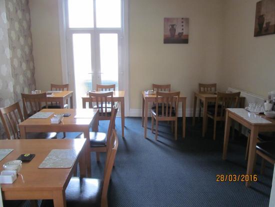 The Waverley Blackpool : The Breakfast Room