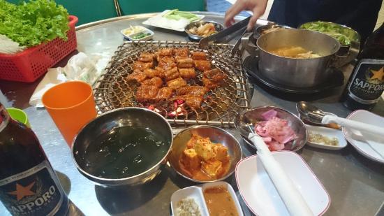 Корейские рестораны барбекю совсем рядом