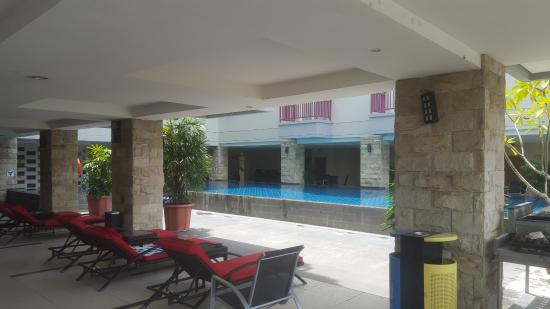 only small pool area on 2nd floor picture of lombok plaza hotel rh tripadvisor com sg