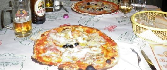 Pizzeria del Cacciatore: Las pizzas