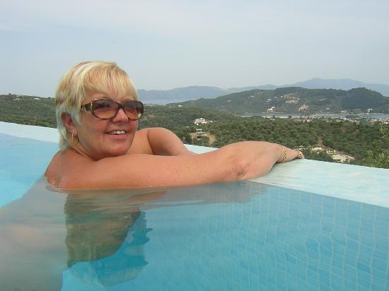 Skiathos Garden Cottages: The Infinity view