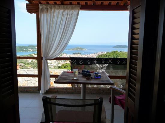 Skiathos Garden Cottages: Every Room has a view