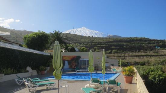 San Juan de la Rambla, Spanien: Blick auf Teide
