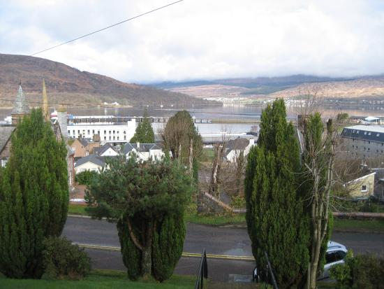 Ardmory House : View over Loch Linnhe from house entrance