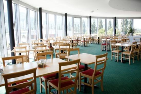 Maienfeld, Suíça: Frühstück mit Panorama Aussicht
