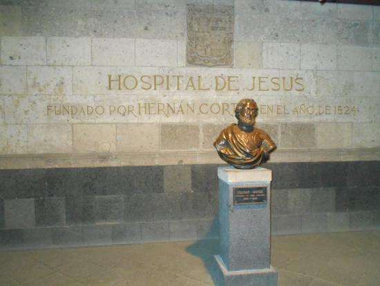 The Only Existing Bust Of Corez In Mexico His Remains Are
