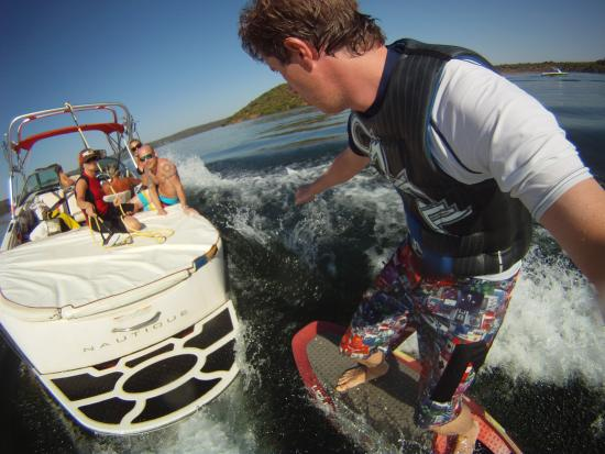 Almodovar del Rio, Spania: Wakesurf