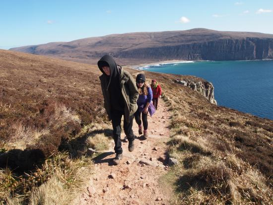 Path to the Old Man of Hoy