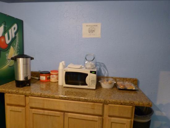 Motel Blu: Frühstück