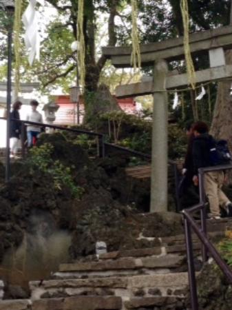 Sengen Shrine: 結構きつい石段