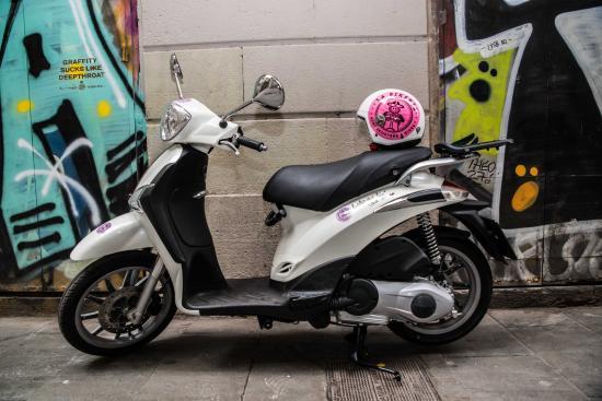 piaggio liberty 125 to rent at la bikeria picture of la bikeria rh tripadvisor com