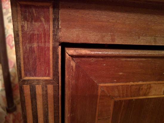 Chiaja Hotel de Charme: Furniture detail