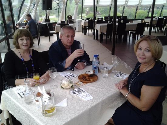 Semkovo, Belarus: Я, супруга и ее сестра