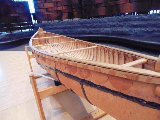 National Museum Of The American Indian Birch Bark Canoe Side View