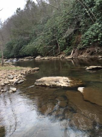 Daniels, Virginia Occidental: Glade Creek Fishing Spot