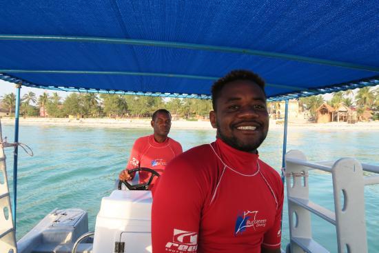 Buccaneer Diving: Waziri - we loved him!