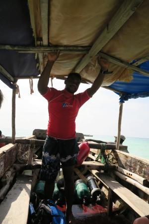 Buccaneer Diving: Waziri, our fearless leader!