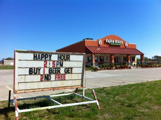 Fort Gibson, OK: Fajita RITA