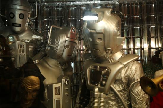Montacute TV Radio Toy Museum: Cybermen