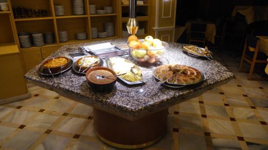 Hotel Don Paco: Ett riktigt bra dessertbord