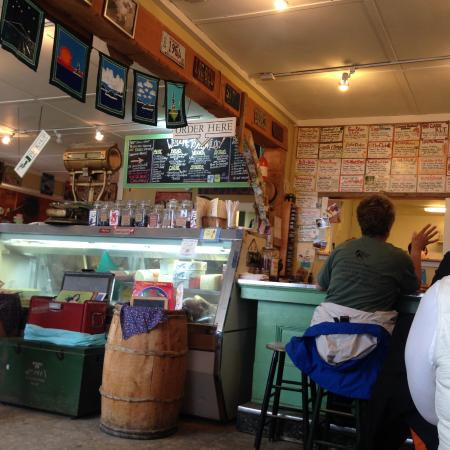 S. Fernald's Country Store and Deli: Check out that sandwich board