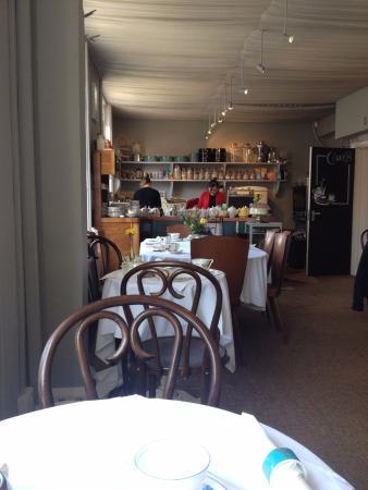 British Bell Tea Room Menu