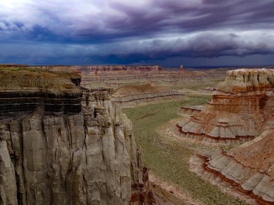 Coal Mine Canyon照片