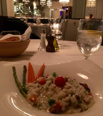 The Left Bank: Vegetarian Risotto