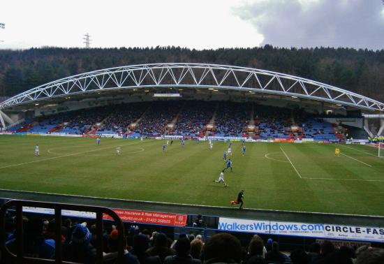 Huddersfield, UK: Great Viewing