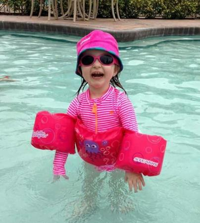 Grande Villas Resort. Toddler approved
