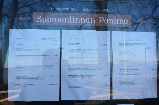 Restaurant Suomenlinnan Panimo: Suomenlinnan Panimo