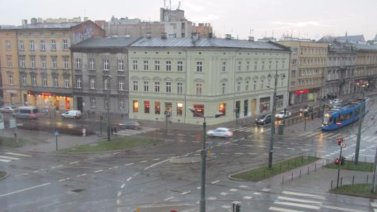 Aparthotel Globus : View from room 302