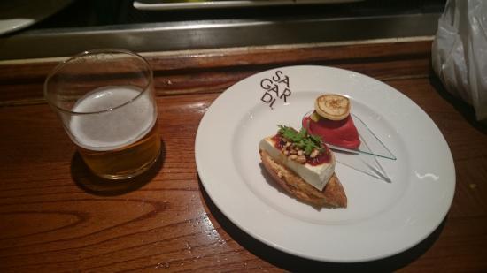 Irati Taverna Basca: Pinchos y zurito de cerveza