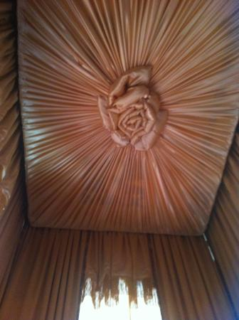 Ann Starrett Mansion Boutique Hotel: A dream rosebud ceiling