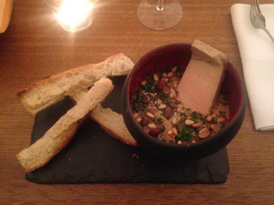 Oeuf cocotte à la crème de Cèpes et foie gras  Picture of  ~ Pierre Bois Feu Strasbourg