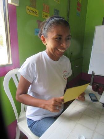 San Juan del Sur Spanish School - Day Classes: Our wonderful instructor!