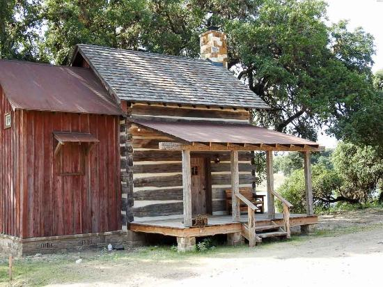 Uvalde, TX: One of our lakefront cabins
