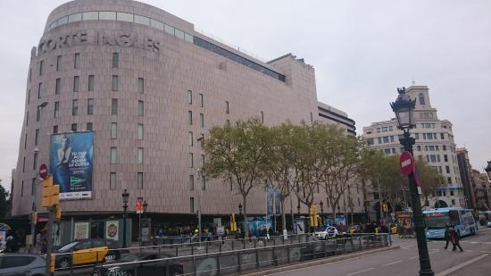 El corte ingl s de plaza catalu a foto de el corte - El corte ingles plaza cataluna barcelona ...