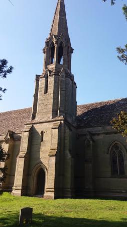 Charlecote, UK: wieża z dzwonem