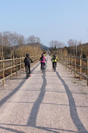 Arta, إسبانيا: Via verda (artabikes)