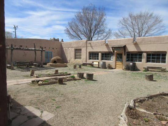 Kitchen picture of kit carson home museum taos for Kit homes new mexico