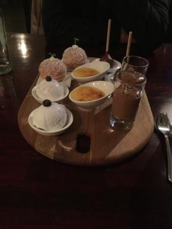 Norg, Нидерланды: Dessert, lekker, maar we moesten er wel heel lang op wachten.