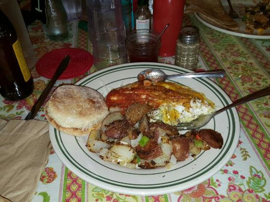 Elkton, OR: Good food and atmosphere