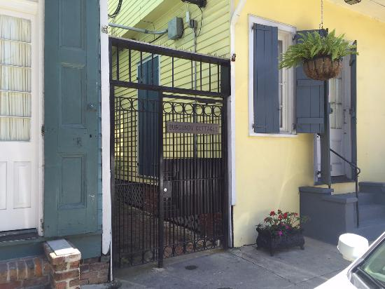 locked gate to burgundy cottages picture of hotel st pierre new rh tripadvisor ie