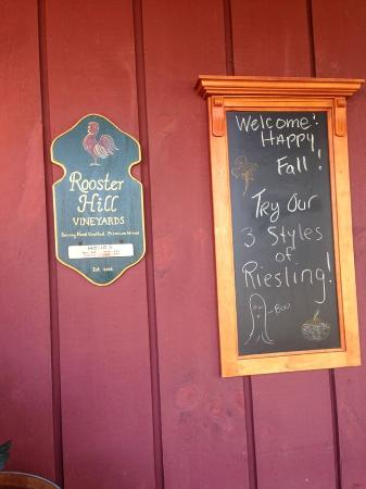 Rooster Hill Vineyards: Rooster Hill.