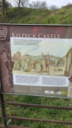 Kilpeck, UK: Castle history
