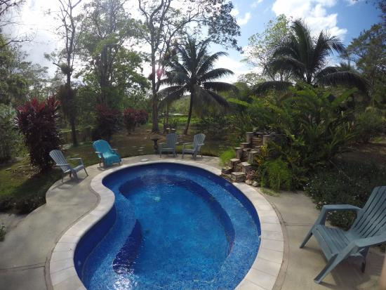 Talparo, Trinidad: View of the small pool