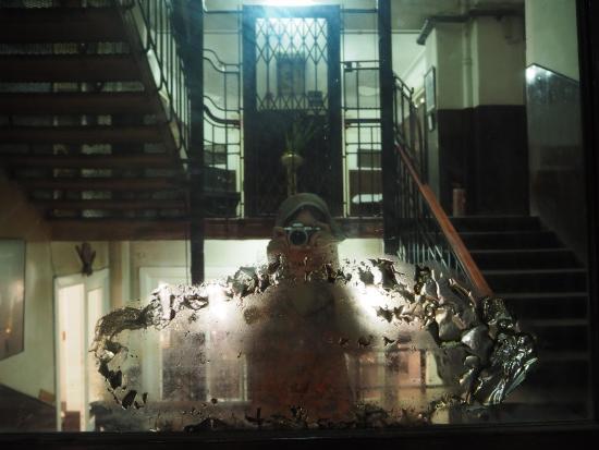 Windsor Hotel Cairo: stairs