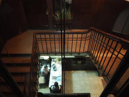 Windsor Hotel Cairo: front desk